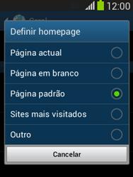 Samsung Galaxy Pocket Neo - Internet no telemóvel - Como configurar ligação à internet -  25
