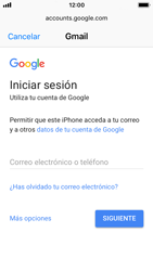 Apple iPhone SE iOS 11 - E-mail - Configurar Gmail - Paso 6