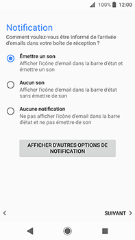 Sony Xperia XA2 Ultra - E-mail - Configuration manuelle (outlook) - Étape 15