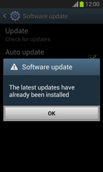 Samsung S7390 Galaxy Trend Lite - Device - Software update - Step 8