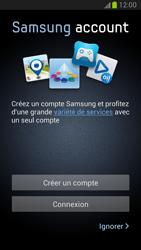 Samsung Galaxy Note 2 - Premiers pas - Créer un compte - Étape 7