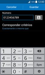 Samsung Galaxy Trend 2 Lite - Chamadas - Bloquear chamadas de um número -  11