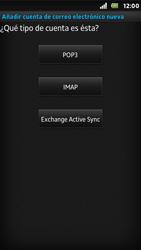 Sony Xperia U - E-mail - Configurar correo electrónico - Paso 7