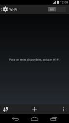 Motorola Moto X (2ª Gen) - WiFi - Conectarse a una red WiFi - Paso 5