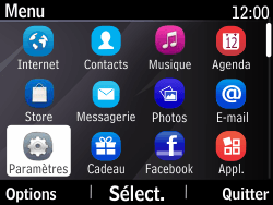 Nokia Asha 210 - Mms - Configuration manuelle - Étape 3