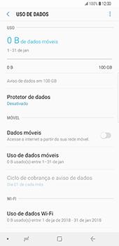 Samsung Galaxy S9 Plus - Internet no telemóvel - Como ativar os dados móveis -  6