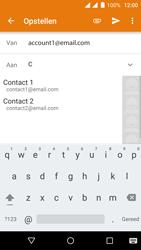 Wiko Fever 4G - E-mail - hoe te versturen - Stap 5
