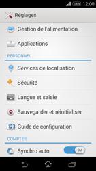 Sony Xpéria E3 - Sécuriser votre mobile - Activer le code de verrouillage - Étape 4