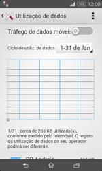 Sony Xperia E1 - Internet no telemóvel - Como ativar os dados móveis -  5