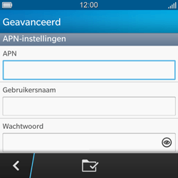 BlackBerry Q5 - MMS - handmatig instellen - Stap 9