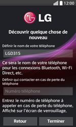 LG F70 - Premiers pas - Créer un compte - Étape 9