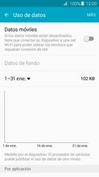 Samsung Galaxy A3 (2016) - Internet - Activar o desactivar la conexión de datos - Paso 6
