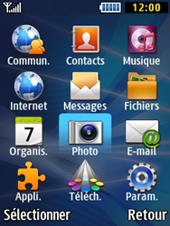 Samsung Solid 271 - Photos, vidéos, musique - Créer une vidéo - Étape 3