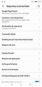 Huawei P20 - Segurança - Como ativar o código PIN do cartão de telemóvel -  5