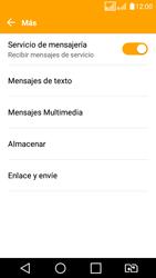 LG K4 (2017) - Mensajería - Configurar el equipo para mensajes de texto - Paso 6