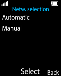 Nokia 108 - Network - Usage across the border - Step 6