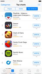 Apple iPhone iOS 8 - Aplicativos - Como baixar aplicativos - Etapa 10