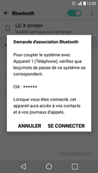 LG X Screen - WiFi et Bluetooth - Jumeler votre téléphone avec un accessoire bluetooth - Étape 7