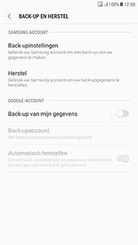 Samsung Galaxy J7 (2017) - Device maintenance - Back up - Stap 8