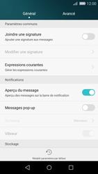 Huawei P8 Lite - SMS - Configuration manuelle - Étape 5
