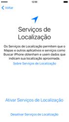 Apple iPhone iOS 9 - Primeiros passos - Como ativar seu aparelho - Etapa 12