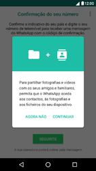 NOS Dive 72 - Aplicações - Como configurar o WhatsApp -  6