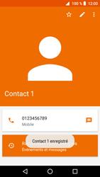 Crosscall Core X3 - Contact, Appels, SMS/MMS - Ajouter un contact - Étape 9