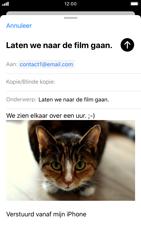 Apple iPhone 6s - iOS 13 - E-mail - e-mail versturen - Stap 14