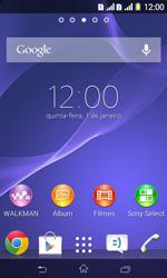 Sony D2105 Xperia E1 Dual - Internet (APN) - Como configurar a internet do seu aparelho (APN Nextel) - Etapa 1