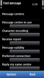 Nokia N8-00 - SMS - Manual configuration - Step 6