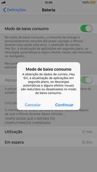 Apple iPhone 8 Plus - Bateria - Como modo de poupança -  5