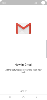 Samsung Galaxy S10 - E-mail - Manual configuration (gmail) - Step 6