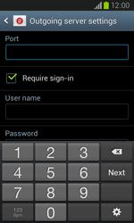 Samsung I8260 Galaxy Core - E-mail - Manual configuration - Step 14