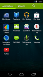 Acer Liquid Jade - Applications - MyProximus - Étape 3