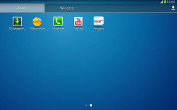 Samsung P5220 Galaxy Tab 3 10-1 LTE - Messagerie vocale - configuration manuelle - Étape 4