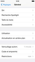 Apple iPhone 5s - Sécuriser votre mobile - Activer le code de verrouillage - Étape 4
