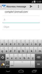 Acer Liquid E600 - E-mail - envoyer un e-mail - Étape 4