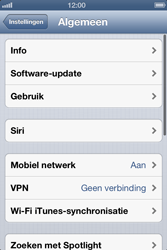 Apple iPhone 4S met iOS 6 (Model A1387) - Software updaten - Update installeren - Stap 4