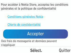 Nokia Asha 210 - Applications - Télécharger des applications - Étape 5