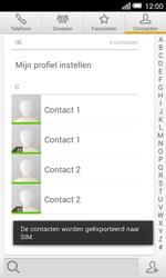 Alcatel One Touch POP S3 4G (OT-5050X) - Contacten en data - Contacten kopiëren van toestel naar SIM - Stap 9
