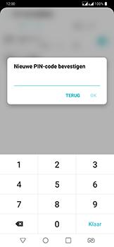 LG g7-fit-dual-sim-lm-q850emw - Beveiliging en ouderlijk toezicht - Hoe wijzig ik mijn SIM PIN-code - Stap 12