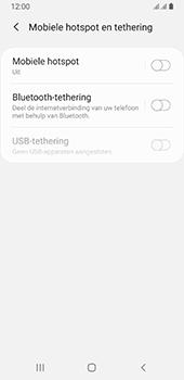 Samsung galaxy-a8-2018-sm-a530f-android-pie - WiFi - Mobiele hotspot instellen - Stap 6
