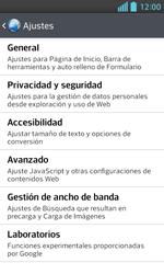 LG Optimus L5 II - Internet - Configurar Internet - Paso 22