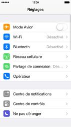 Apple iPhone 5 - Internet et connexion - Partager votre connexion en Wi-Fi - Étape 3