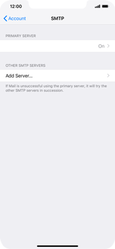 Apple iPhone XS Max - E-mail - Manual configuration IMAP without SMTP verification - Step 23