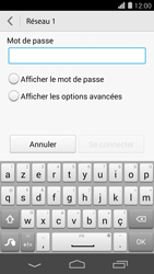 Huawei Ascend P7 - Wifi - configuration manuelle - Étape 6