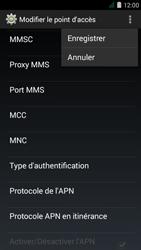 Acer Liquid Z410 - Internet - Configuration manuelle - Étape 17
