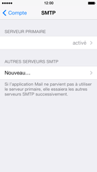 Apple iPhone 5s - E-mail - Configuration manuelle - Étape 19