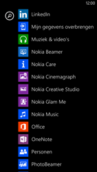 Nokia Lumia 1320 - Contactgegevens overzetten - delen via Bluetooth - Stap 3