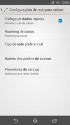 Sony Xperia E4G - Internet (APN) - Como configurar a internet do seu aparelho (APN Nextel) - Etapa 6